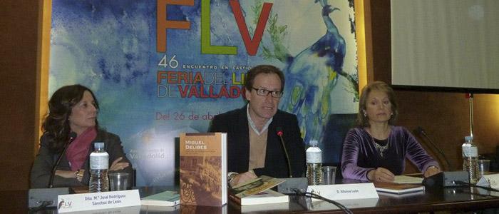 Día Delibes en la Feria del Libro de Valladolid (2013)