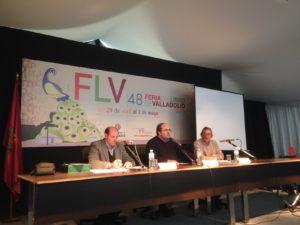 Miguel Lizana, Vidal Arranz y Miguel Delibes de Castro analizaron la vigencia del discurso de ingreso en la R.A.E de Miguel Delibes