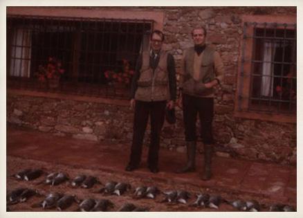 Miguel Delibes con S.M. el Rey Juan Carlos I, 1980.