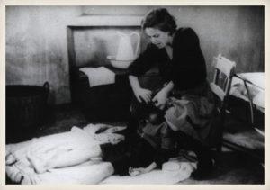 Terele Pávez. Fotograma de Los santos inocentes, 1984.