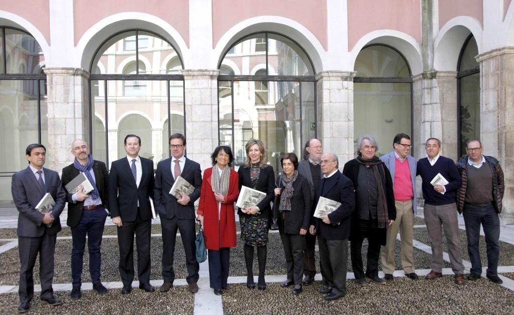 Autores del libro y patronos de la Fundación MD