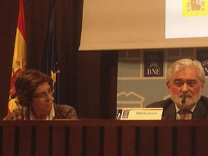 Amparo Medina-Bocos y Darío Villanueva