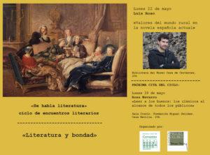 Luis Roso y Germán Vega conversarán sobre los «Valores del mundo rural en la novela española actual» durante el ciclo de encuentros literarios.