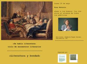 La Fundación Miguel Delibes y el Museo Casa de Cervantes clausuran el primer ciclo de encuentros literarios «Se habla literatura».