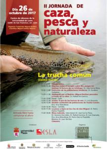 II Jornada de Caza, Pesca y Naturaleza.La trucha