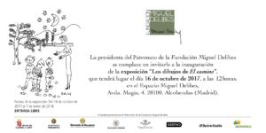 Cambios_Invitación exposición Los dibujos de El camino