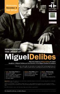 Jornada Miguel Delibes. Chicago