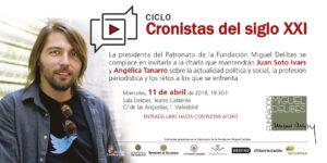 Juan Soto Ivars, en Cronistas del Siglo XXI
