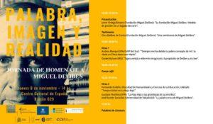 Jornada homenaje a Miguel Delibes en Montevideo
