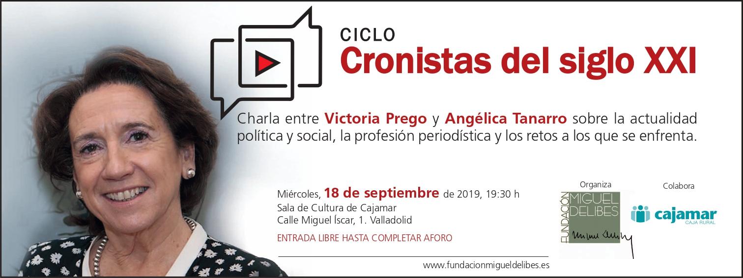 Victoria Prego en Cronistas del siglo XXI