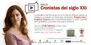 Ángeles Caso en Cronistas del siglo XXI