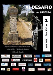 Cartel XI Desafío Canal de Castilla