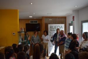 """Inauguración de la exposición """"Miguel Delibes ilustrador. Los dibujos de `El camino´"""" en Rueda (Valladolid)"""