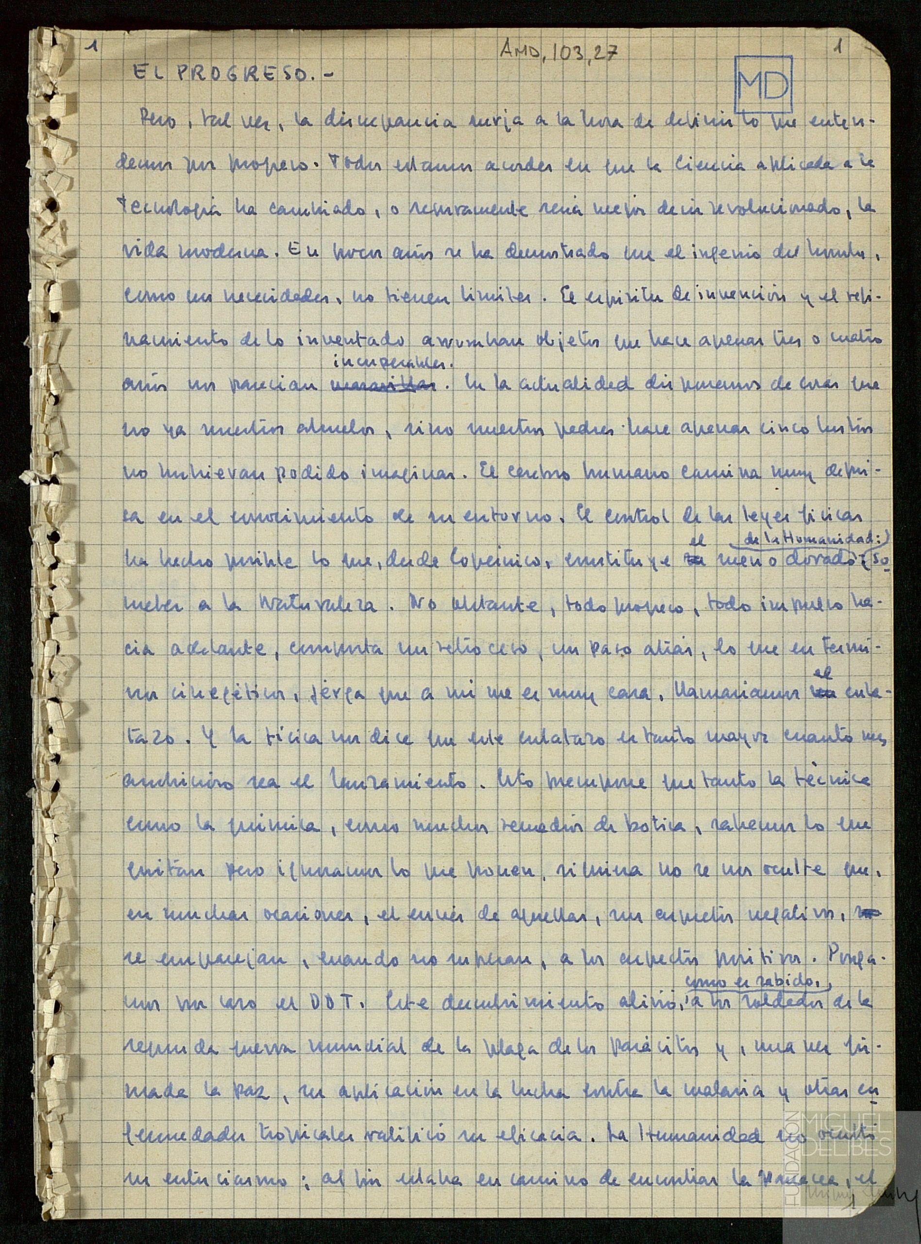 donación manuscrito ingreso RAE